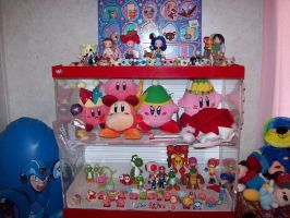 The Nintendo Figure Collection by JigglyPuffGirl