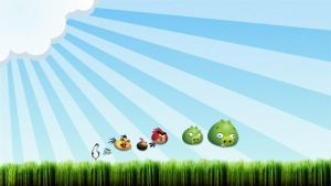 Angry Birds Wallpapers by craiganeedham