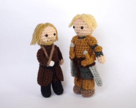 Jaime and Brienne by LunasCrafts
