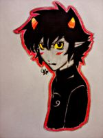 homestuck - karkat by Carteraug21