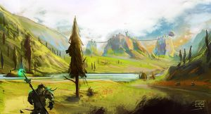 Mulgore Thunder Bluff WoW by SuperPhazed