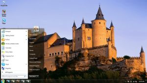 Castles-1 Windows 7 themes by windowsthemes