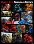 Red vs Blue Season 11 Poster by DanTherrien101