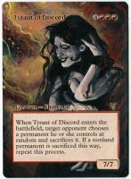 Magic Alteration: Tyrant of Discord by Ondal-the-Fool