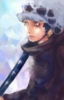 Trafalgar Law by thehairypeach
