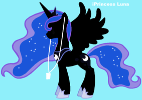 Princess Luna ipod by Rose-fang