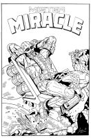 Mister Miracle Inked by garystrange