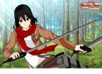 AT (iminlovewithanime001) : Mikasa Ackerman by Everything-Fan-666