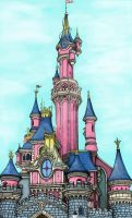 The Disney Castle by Madkitty95