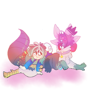 what a comfy pillow (DTA entry) by pasteldoggle