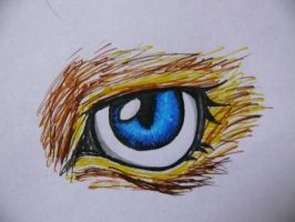 eye of the tiger.. or beast.. or whatever xD by mzza-art