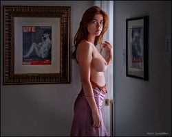 Jess in the hall-hall by Gary-Melton
