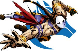 Vega/Balrog flying - street fighter by garudoz1
