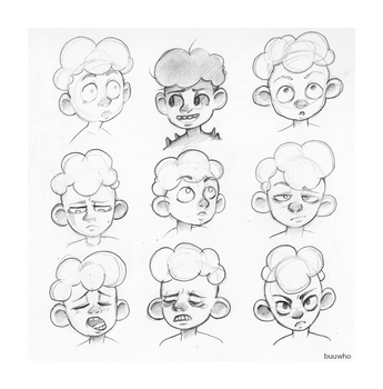 Denny Faces by BuuWho