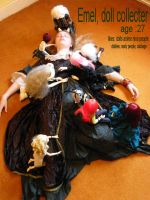 drowning in dolls by child-of-aros