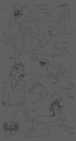 Sketchtime #17: Rare used Characters by LivanaS