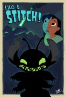 Lilo and Stitch: Here Comes Experiment 626 by dlee1293847