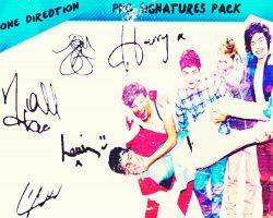One Direction Signatures PNG - pack by 1DirectionInfectionn