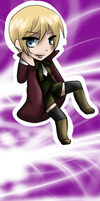Alois Bookmark by Inkqubus