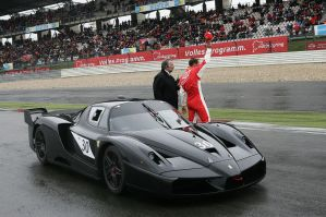 Ferrari FXX Black by TheCarloos