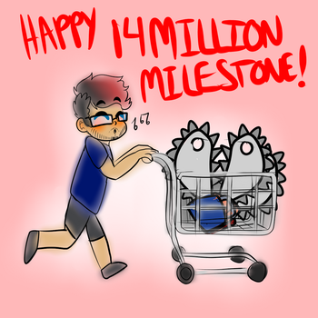 Happy 14 Million! by Raymour