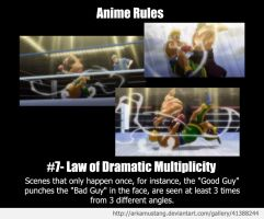 Anime Rule #7 by ArkaMustang