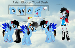 Asian Bloody Cloud Dash by xXMurder-DashXx