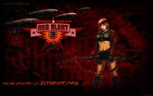 Red Alert 3 Natasha Widescreen by dmhorus