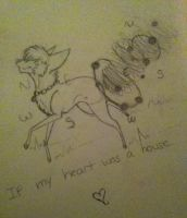 If my heart was a house sketch by FlSHES