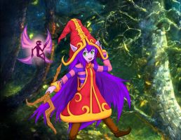 Lulu: The Fae Sorceress, Pix: The Faerie Companion by Jarel-Sayalang