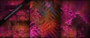 Hot Pink Industrial Textures by WebTreatsETC