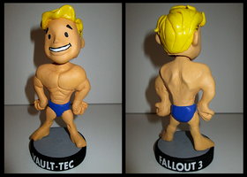 Fallout 3, Alternative Strength Bobblehead. by APlaceForStuff