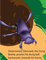 Glennard the Dung Beetle by xxwing