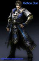Dynasty Warriors 8: Xiahou Dun by nadinepazkye