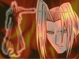 Sephiroth-Burning Ambitions by Renji-Abarai