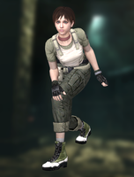 Rebecca Chambers(S.T.A.R.S.) Resident Evil HD by XKammyX