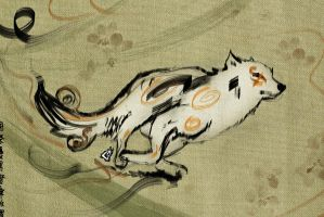 Okami Sketch 15 by GAVade