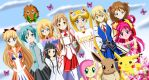 .: The League of cute Heroines :. by Sincity2100