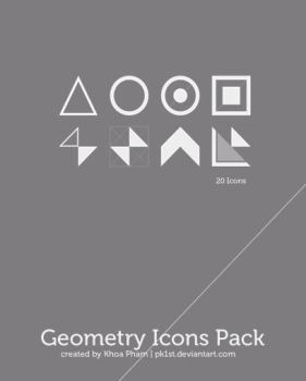 Geometry Icons Pack by pk1st