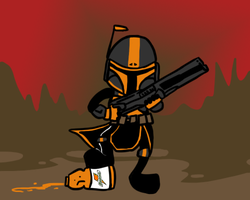 Orange Mando'ade by zammap