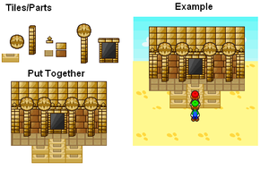 Dry Dry Ruins Sprites by TheCynicalPoet