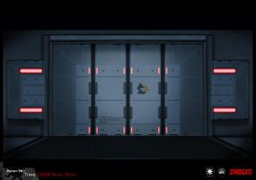 SYNDICATE concept - blast door by torvenius