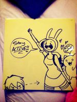 AT Dry Erase Board Fun! by Mad-Hattress-Ari