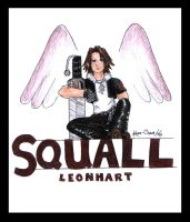Squall Leonhart by Kaze-Chan