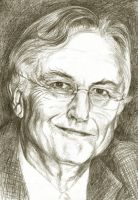 Richard Dawkins by delph-ambi