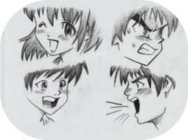 Mark Crilley's manga mouths by MyaWho