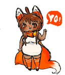 Fanarts: Dat Foxy Orange by Ask-MusicPrincess3rd