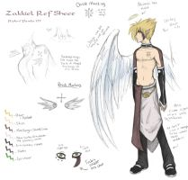 Zakkiel Refrence Sheet by Riokri