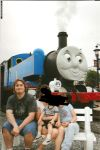 Taking a picture with Thomas by darklordaragona