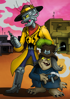 Bravestarr-Partners in Crime by Turquoisephoenix